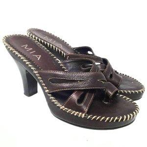 Mia Womens Slide on Pump Sandals